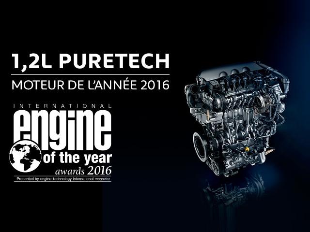 Moteur PureTech moteur de l'année 2016