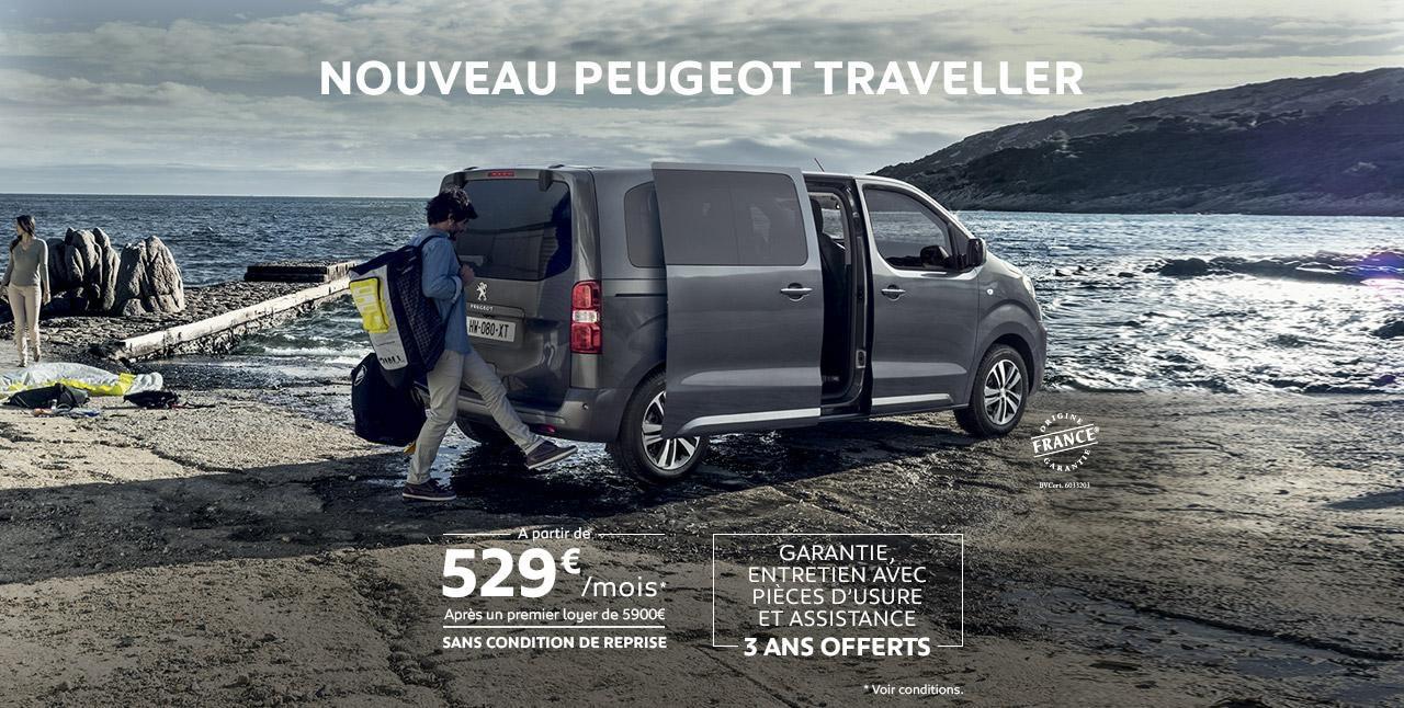Offre Peugeot Traveller
