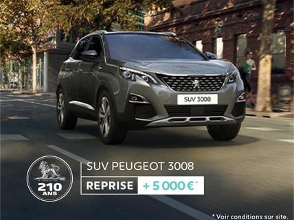 210 GO REPRISE SUV PEUGEOT 3008
