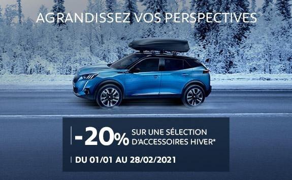 Accessoires Hiver Peugeot