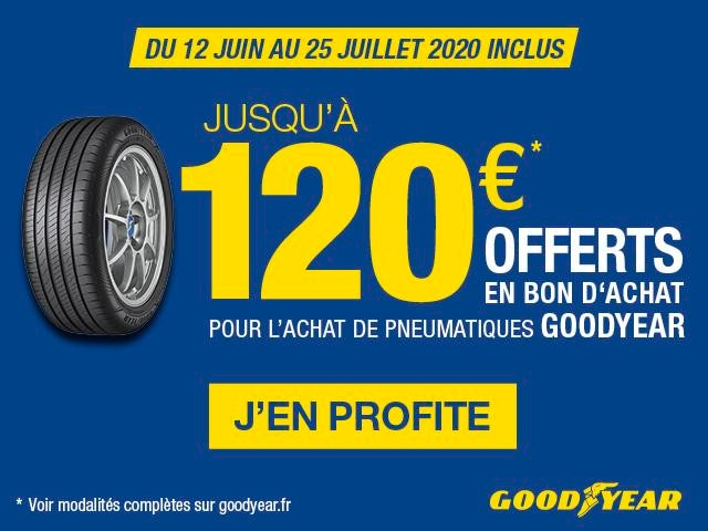 OFFRE GOODYEAR | PEUGEOT