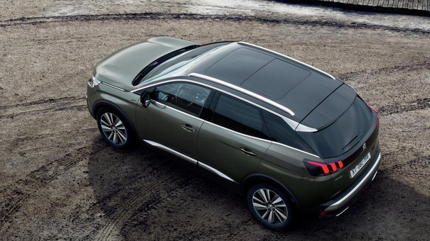SUV PEUGEOT 3008 : Toit black diamond