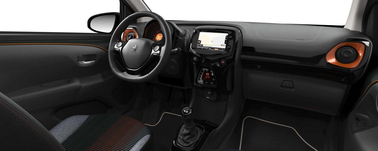 Peugeot 108 top roland garros essayez la voiture for Interieur 108