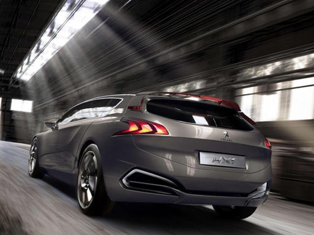Peugeot hx1 concept car