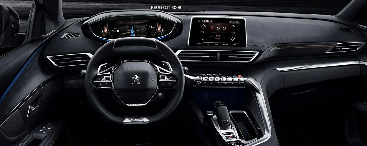 SUV PEUGEOT 3008  : PEUGEOT i-Cockpit®
