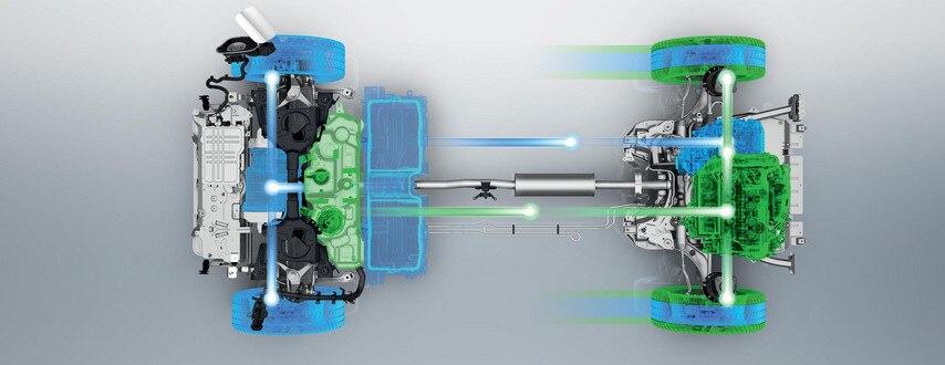 SUV PEUGEOT 3008 HYBRID4 : Batterie lithium-ION