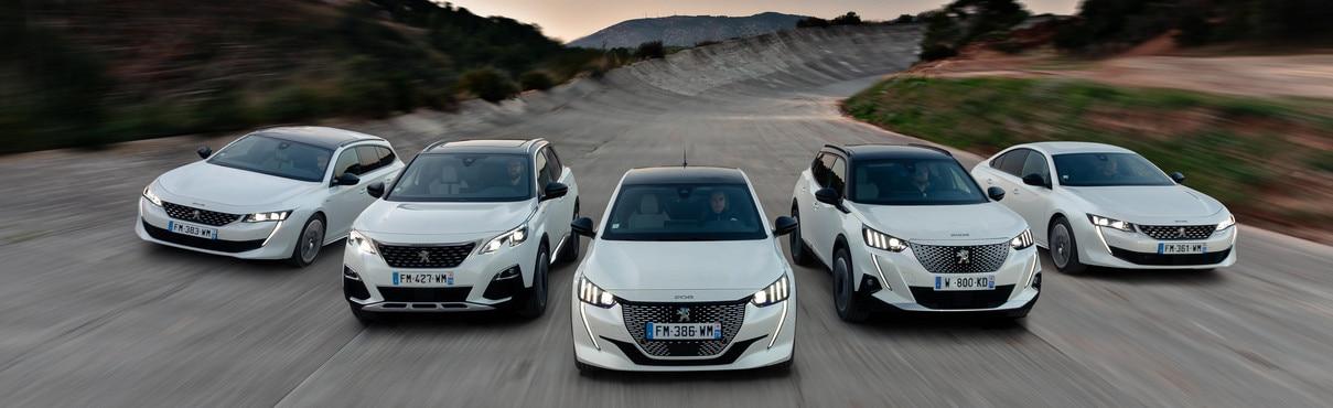 Découvrez la gamme électrifiée Peugeot