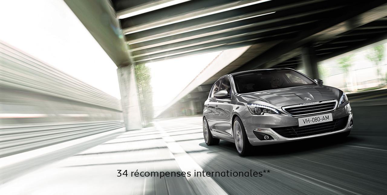 Peugeot 308 34 récompenses