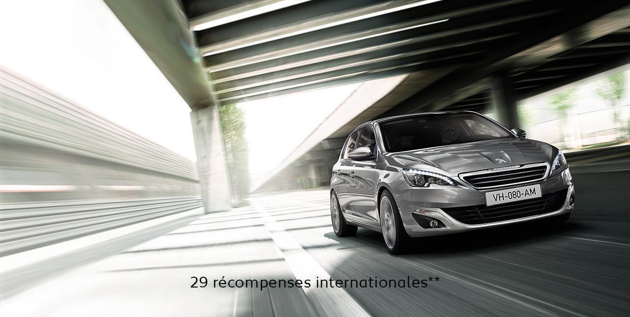 Peugeot 308 29 récompenses
