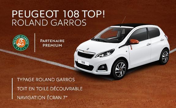 Peugeot 108 TOP! Roland Garros