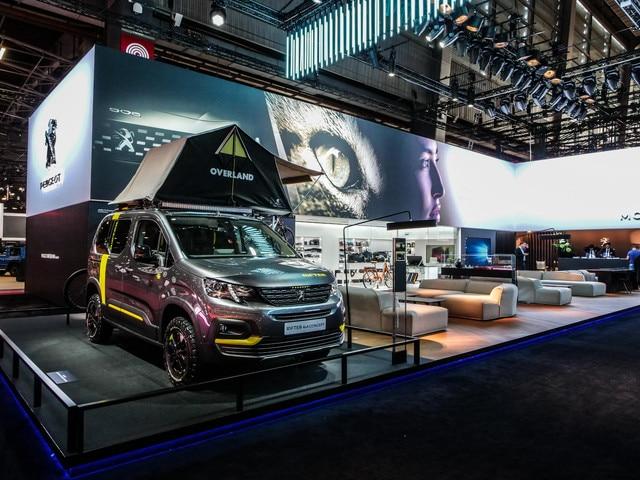 Stand Peugeot Mondial Rifter