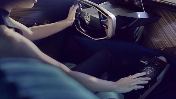 Voiture Peugeot - visuel lifestyle