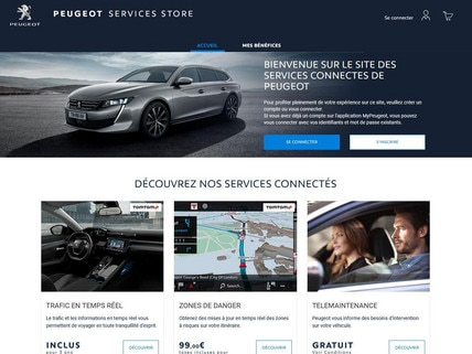 HP Peugeot Services Store