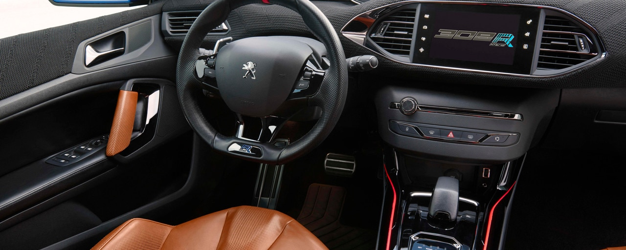 peugeot 308 r hybrid int gre pleinement le i cockpit. Black Bedroom Furniture Sets. Home Design Ideas