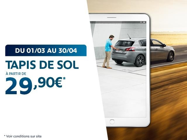 Offre APV Peugeot mars avril 2019