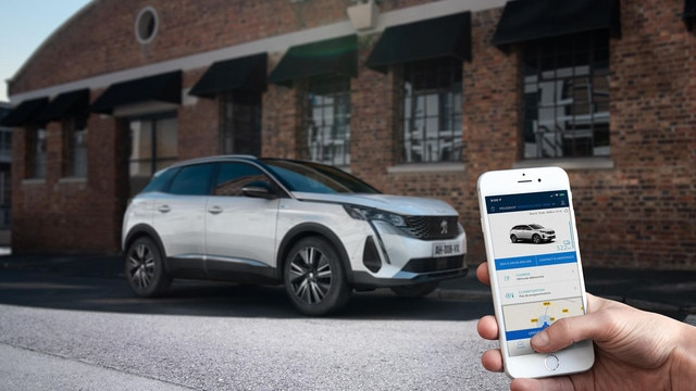 Nouveau SUV PEUGEOT 3008 HYBRID – Application MyPeugeot