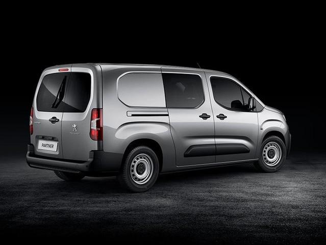 Nouveau Peugeot Partner dimensions