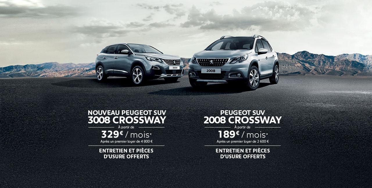 Gamme SUV Crossway