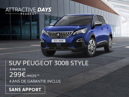PEUGEOT - ATTRACTIVE DAYS