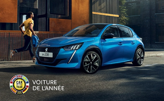 NOUVELLE PEUGEOT e-208 - Car Of The Year 2020