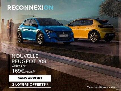 Reconnexion Nouvelle Peugeot 208