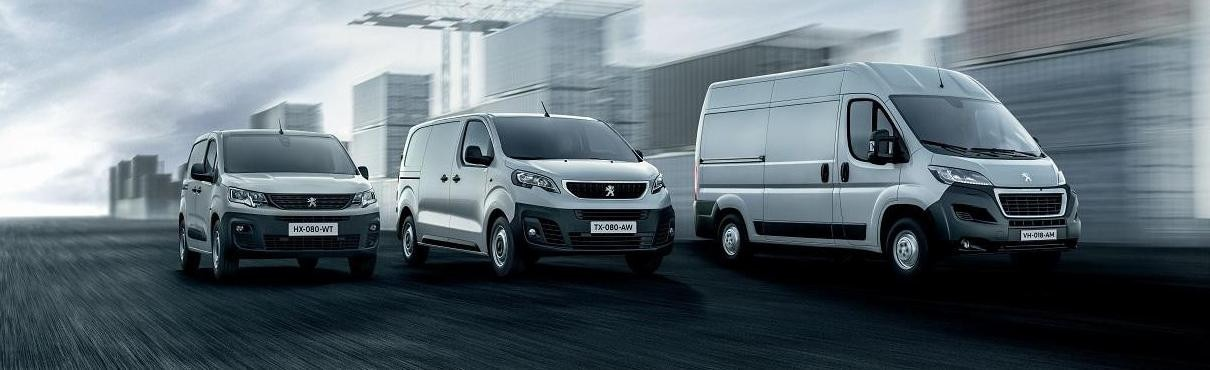 Gamme Peugeot Utilitaires