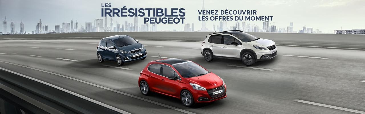 Les irrésistibles Peugeot
