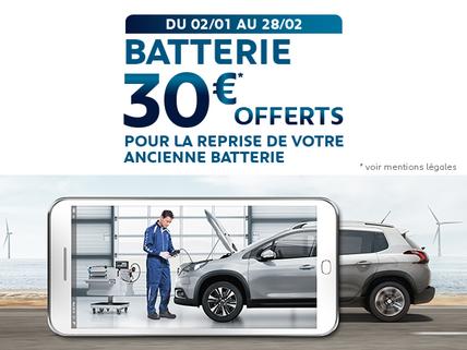 offre Batterie