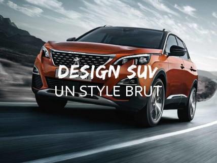 Design suv 3008