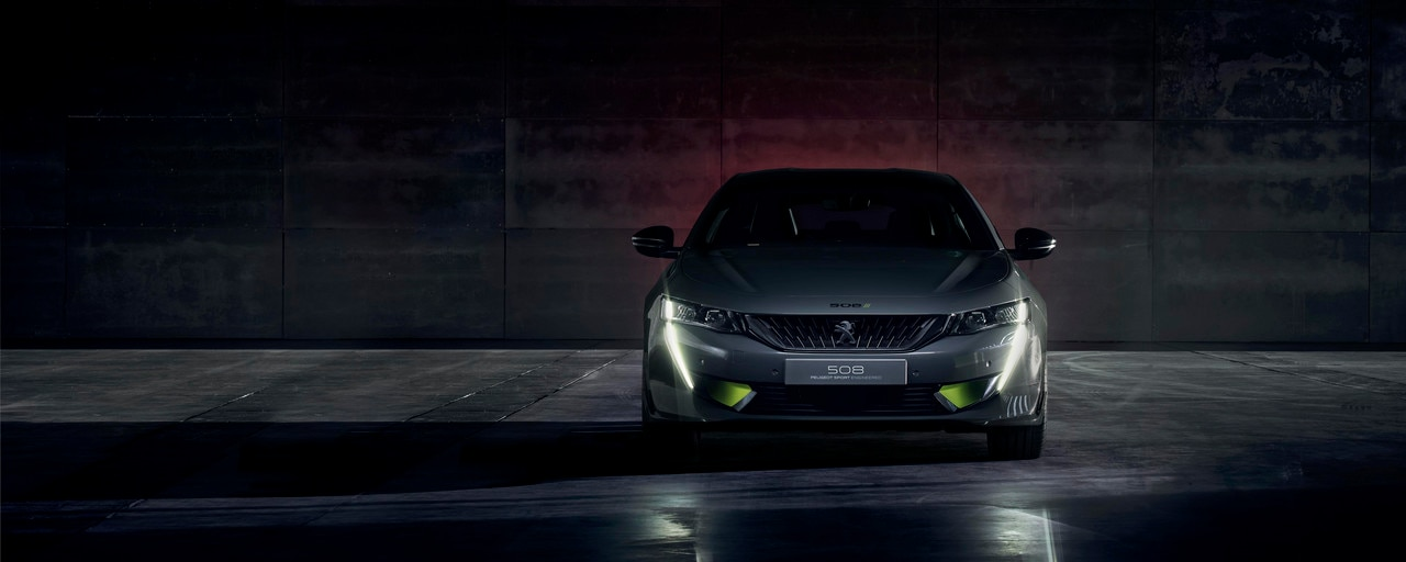 Face Avant Nouveau Concept 508 Peugeot Sport EngIneered