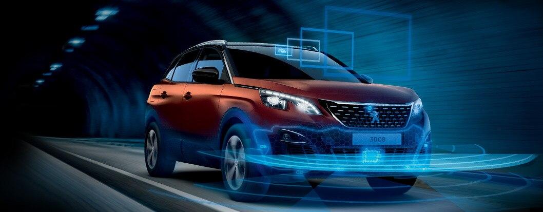 Peugeot SUV 3008 radar