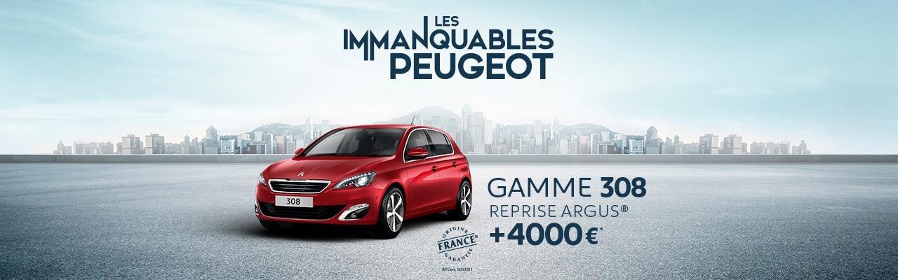Offre Peugeot 308 berline