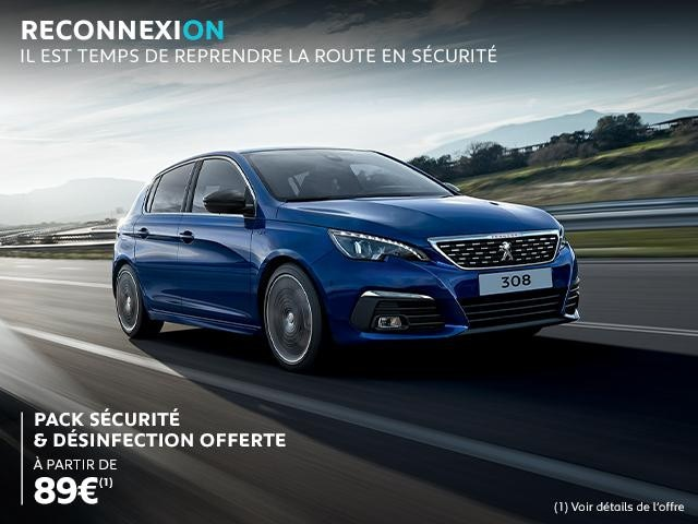PACK SECURITE ET DESINFECTION PEUGEOT
