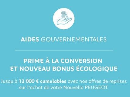 PEUGEOT | AIDES GOUVERNEMENTALES 2020