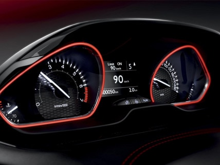Peugeot 208 gti design int rieur for Interieur 208 gti
