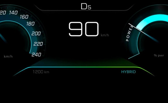 SUV PEUGEOT 3008 : mode HYBRID