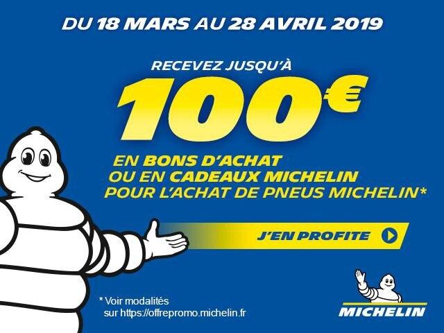 Offre Michelin mars avril 19