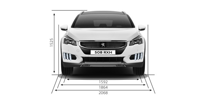 peugeot 508 rxh informations techniques. Black Bedroom Furniture Sets. Home Design Ideas