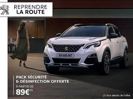 PACK SÉCURITÉ & DÉSINFECTION OFFERTE