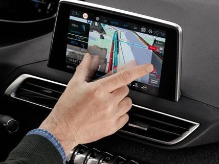 Peugeot i-cockpit ecran tactile