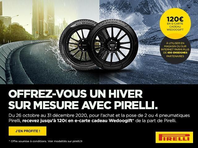 Bannière Pirelli