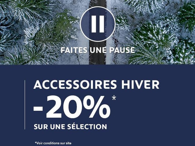 Offre Accessoire Peugeot